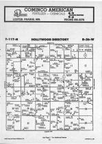 Hollywood T117N-R26W, Carver County 1987 Published by Farm and Home Publishers, LTD