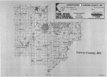Index Map, Carver County 1988