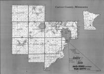 Index Map, Carver County 1990