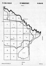 Map Image 016, Cass County 1988