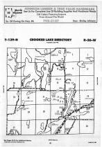 Crooked Lake T139N-R26W, Cass County 1988