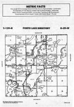 Ponto Lake T139N-R29W, Cass County 1988