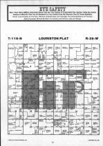 Louriston T119N-R38W, Chippewa County 1986 Published by Farm and Home Publishers, LTD