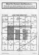 Lone Tree T118N-R37W, Chippewa County 1986 Published by Farm and Home Publishers, LTD