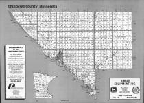 Index Map, Chippewa County 1991