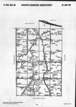 Map Image 003, Chisago County 1991