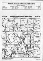 Chisago Lake T34N-R20W, Chisago County 1991
