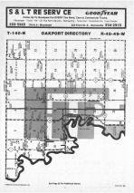 Map Image 028, Clay County 1985