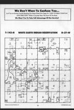 White Earth Indian Reservation T143N-R37W, Clearwater County 1989