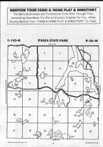 Lake Itasca, Elk Lake T143N-R36W, Clearwater County 1990 Published by Farm and Home Publishers, LTD