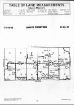 Clover T150N-R36W, Clearwater County 1990 Published by Farm and Home Publishers, LTD