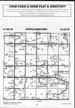 Popple T147N-R38W, Clearwater County 1990 Published by Farm and Home Publishers, LTD