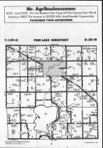 Pine Lake T149N-R38W, Clearwater County 1990 Published by Farm and Home Publishers, LTD