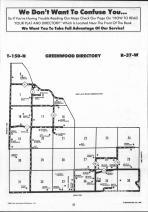 Greenwood T150N-R37W, Clearwater County 1990 Published by Farm and Home Publishers, LTD