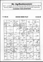 Moose Creek T146N-R36W, Clearwater County 1990 Published by Farm and Home Publishers, LTD