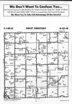 Holst T148N-R37W, Clearwater County 1990 Published by Farm and Home Publishers, LTD
