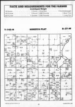 Minerva T145N-R37W, Clearwater County 1990 Published by Farm and Home Publishers, LTD