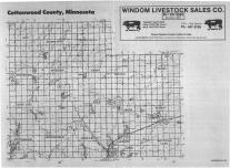 Index Map, Cottonwood County 1988