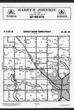 Great Bend T105N-R36W, Cottonwood County 1989