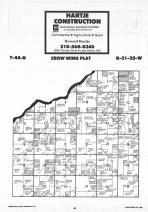 Map Image 023, Crow Wing County 1987