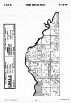 Map Image 043, Crow Wing County 1987
