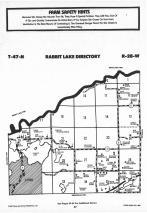Rabbit Lake T47N-R28W, Crow Wing County 1987