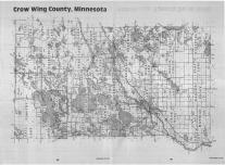 Index Map, Crow Wing County 1988