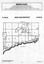 Dean Lake T136N-R25W, Crow Wing County 1988