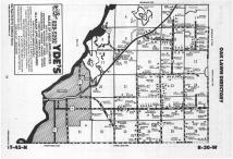 Map Image 054, Crow Wing County 1988
