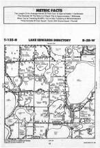 Lake Edwards T135N-R28W, Crow Wing County 1988