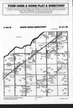 Map Image 037, Crow Wing County 1989