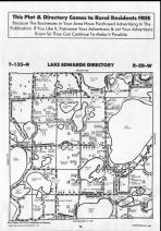 Lake Edwards T135N-R28W, Crow Wing County 1990