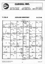 Dodge County Map 002, Dodge and Steele Counties 1990