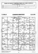 Dodge County Map 004, Dodge and Steele Counties 1990