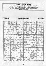 Dodge County Map 009, Dodge and Steele Counties 1990