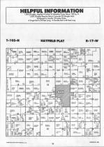 Dodge County Map 011, Dodge and Steele Counties 1990