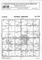 Dodge County Map 012, Dodge and Steele Counties 1990