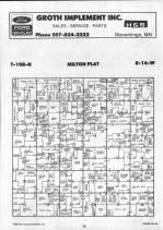Dodge County Map 015, Dodge and Steele Counties 1990