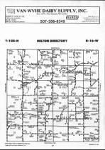 Dodge County Map 016, Dodge and Steele Counties 1990
