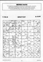 Dodge County Map 017, Dodge and Steele Counties 1990