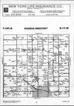 Dodge County Map 022, Dodge and Steele Counties 1990