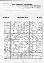 Dodge County Map 023, Dodge and Steele Counties 1990