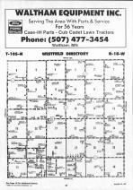 Dodge County Map 024, Dodge and Steele Counties 1990