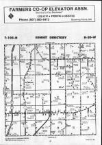 Steele County Map 001, Dodge and Steele Counties 1990