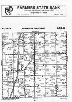 Steele County Map 003, Dodge and Steele Counties 1990