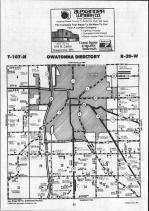 Steele County Map 005, Dodge and Steele Counties 1990