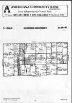 Steele County Map 011, Dodge and Steele Counties 1990