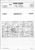 Steele County Map 012, Dodge and Steele Counties 1990