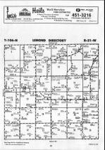 Steele County Map 013, Dodge and Steele Counties 1990