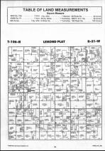Steele County Map 014, Dodge and Steele Counties 1990